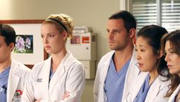 photo, Ellen Pompeo, Grey's Anatomy, Justin Chambers