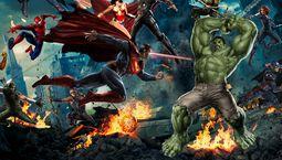 photo DC vs Marvel