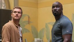 photo, Mike Colter, Finn Jones