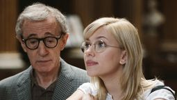 Photo Scarlett Johansson, Woody Allen