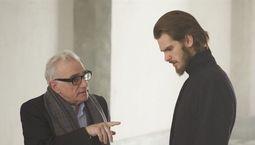 Photo Andrew Garfield, Martin Scorsese