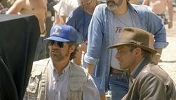 Photo Harrison Ford, Indiana Jones, George Lucas