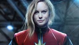 Photo Brie Larson Captain Marvel