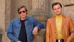 Photo Brad Pitt, Leonardo DiCaprio