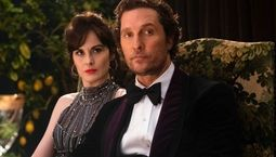 photo, Michelle Dockery, Matthew McConaughey