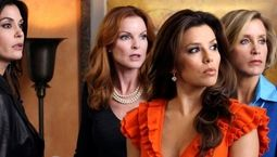 photo, Teri Hatcher, Marcia Cross, Eva Longoria, Felicity Huffman