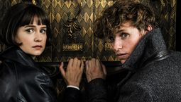 Photo Eddie Redmayne, Katherine Waterston