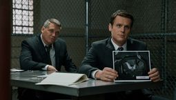 Photo Mindhunter, Jonathan Groff, Holt McCallany