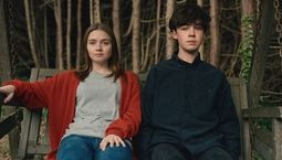 Photo Jessica Barden, Alex Lawther