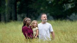 photo, The Walking Dead, Andrew Lincoln, Danai Gurira