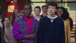 photo, Asa Butterfield, Ncuti Gatwa