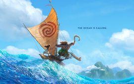 Les réalisateurs d'Aladdin présentent l'affiche de Moana : le nouveau Disney avec Dwayne Johnson