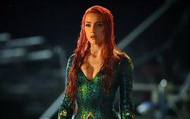 Aquaman : nouvelle photo sexy et humide d'Amber Heard en super-héroïne