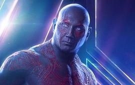 Les Gardiens de la Galaxie : Dave Bautista se rappelle de l'horrible casting qu'il a passé pour devenir Drax