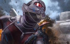 Captain America Civil War dévoile un concept art d'un combat inédit et spectaculaire
