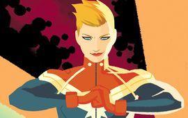 Captain Marvel dévoile déjà à quoi ressembleront ses Skrulls