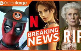 Disney+ cher et + cool, NETFLIX se paye Tomb Raider et les gamers, hommage à Cloris Leachman