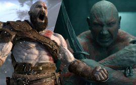 God of War : le réalisateur de Pacific Rim 2 veut Dave Bautista pour jouer Kratos