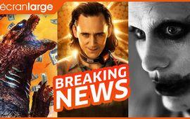 Godzilla vs Kong écrase le box-office, la bande-annonce de Loki excite et du rab de Snyder Cut