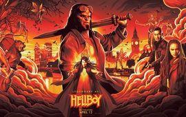 Le feu des enfers se déchaîne dans les nouveaux posters de Hellboy