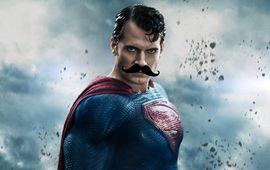 Justice League : découvrez l'ouverture avec le faux visage d'Henry Cavill et le moustache-gate