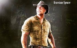 Dwayne Johnson casse des bras dans de nouvelles photos de tournage de Jumanji