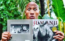Jumanji : The Rock se met en scène dans une vidéo pleine d'humour  au milieu de la jungle