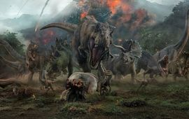 Jurassic World : un autre dinosaure hybride dévoile sa dégaine colorée et cornue