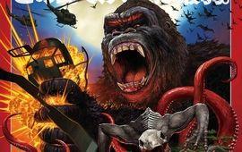 Kong Skull Island nous offre une affiche japonaise monstrueusement classe !