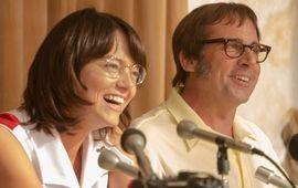 La Bataille des Sexes : Emma Stone et Steve Carrell s'affrontent sur les courts dans un trailer hilarant
