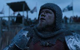 Le Dernier Duel : l'écriture du scénario a été divisée par sexe, confie Matt Damon