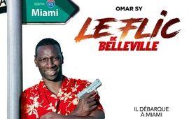 Le Flic de Belleville : Omar Sy fait un gros clin d'oeil à Eddie Murphy dans l'affiche du film