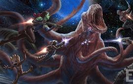 Les Gardiens de la Galaxie 2 dévoile un nouvel artwork hallucinant