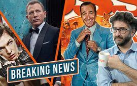 Bond et Dune repoussés, Resident Evil Rebooté, OSS 117 débarque, Mignonnes accusé ! - Breaking News