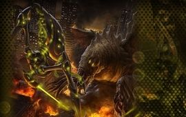 Pacific Rim se fait plagier par le réalisateur du remake d'Evil Dead et ça s'appelle Monsterpocalypse
