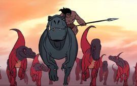 Primal : préhistoire et T-Rex dans un trailer sanglant, par le studio derrière Love, Death & Robots