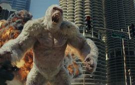 Rampage : le réalisateur explique qu'il voulait faire quelque chose d'un peu réaliste quand même (LOL)