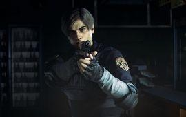 Le remake de Resident Evil 2 dévoile une jaquette classe et nostalgique