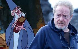 Ridley Scott pourrait réaliser l'adaptation de la Saga Merlin pour Disney
