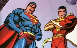 Shazam : le réalisateur parodie une scène de Batman v Superman