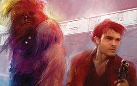 Solo : A Star Wars Story dévoile de surprenants croquis de Chewbacca et du Faucon Millenium dans un livre