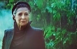 Star Wars : L'Ascension de Skywalker - (on le sait) Carrie Fisher est présente, mais avec vraiment peu de temps d'écran