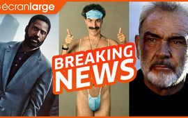 Tenet, Nolan s'inquiète, Dix pour Cent déjà de retour ? Borat vs Netflix - Breaking News