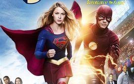 Supergirl v The Flash : des premières images officielles du crossover et un teaser explosif