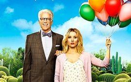 The Good Place : Kristen Bell pousse une nouvelle porte dans la première affiche de la saison 3