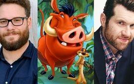 Remake du Roi Lion : Disney a trouvé les nouveaux Timon et Pumba
