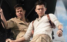 Uncharted : Tom Holland et Mark Wahlberg présentent un making-of avec double dose de muscles