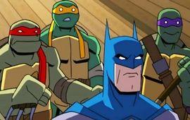 Batman et les Tortues Ninja vont être réunis dans un film d'animation, et la première bande-annonce est plutôt alléchante