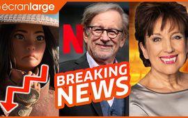 Raya déraille au box-office, Spielberg et King chez Netflix, Justice Leake, les cinés pleurent