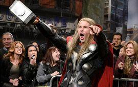 Thor Ragnarok : Chris Hemsworth fait une plaisanterie un peu scato au réalisateur
